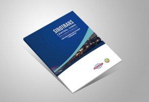 物流公司画册_中国外运企业宣传册