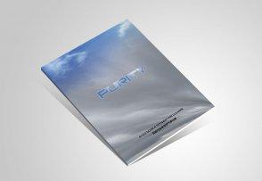 新风科技企业画册设计_北京德瑞安达