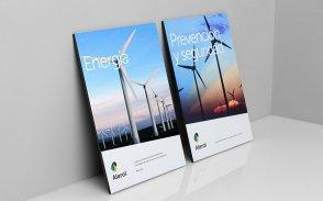 能源电力公司LOGO的形象设计准备