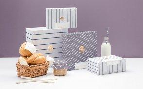 国外面包店VI设计手册内容和经典