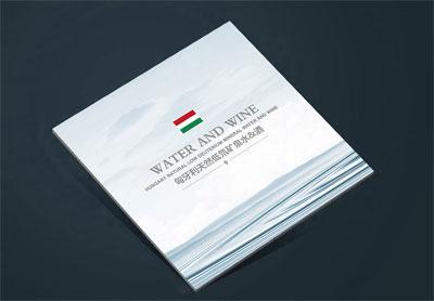 玛丽娜产品宣传册_国外水品牌画册