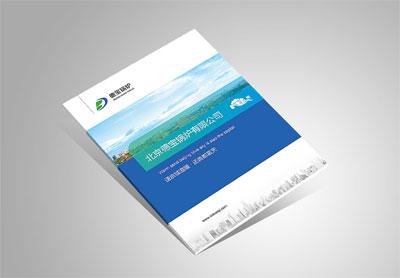 北京企业宣传册设计_德宝锅炉公司